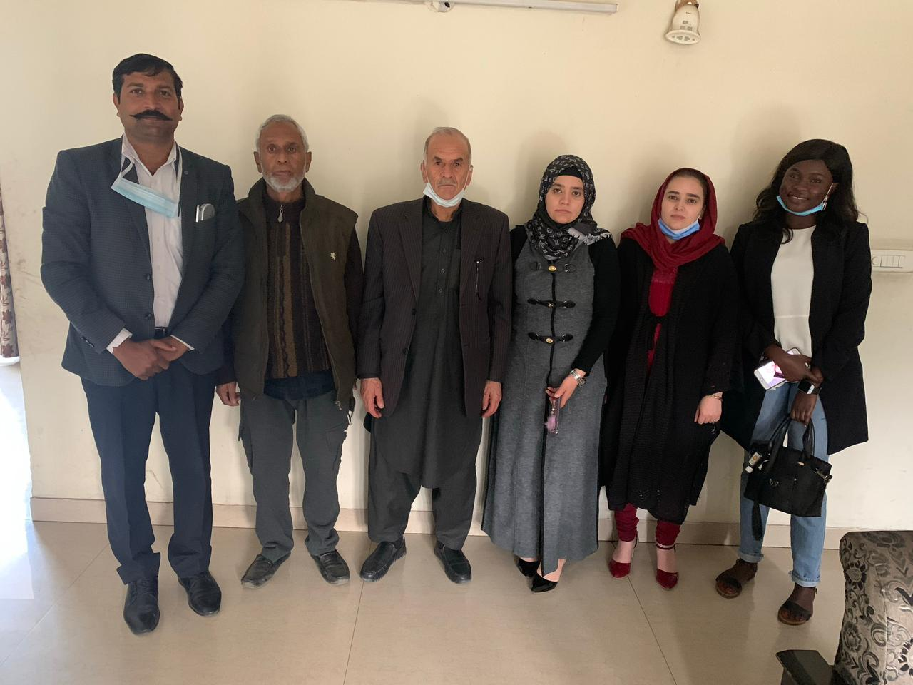 Patients from Afganistan and Sudan